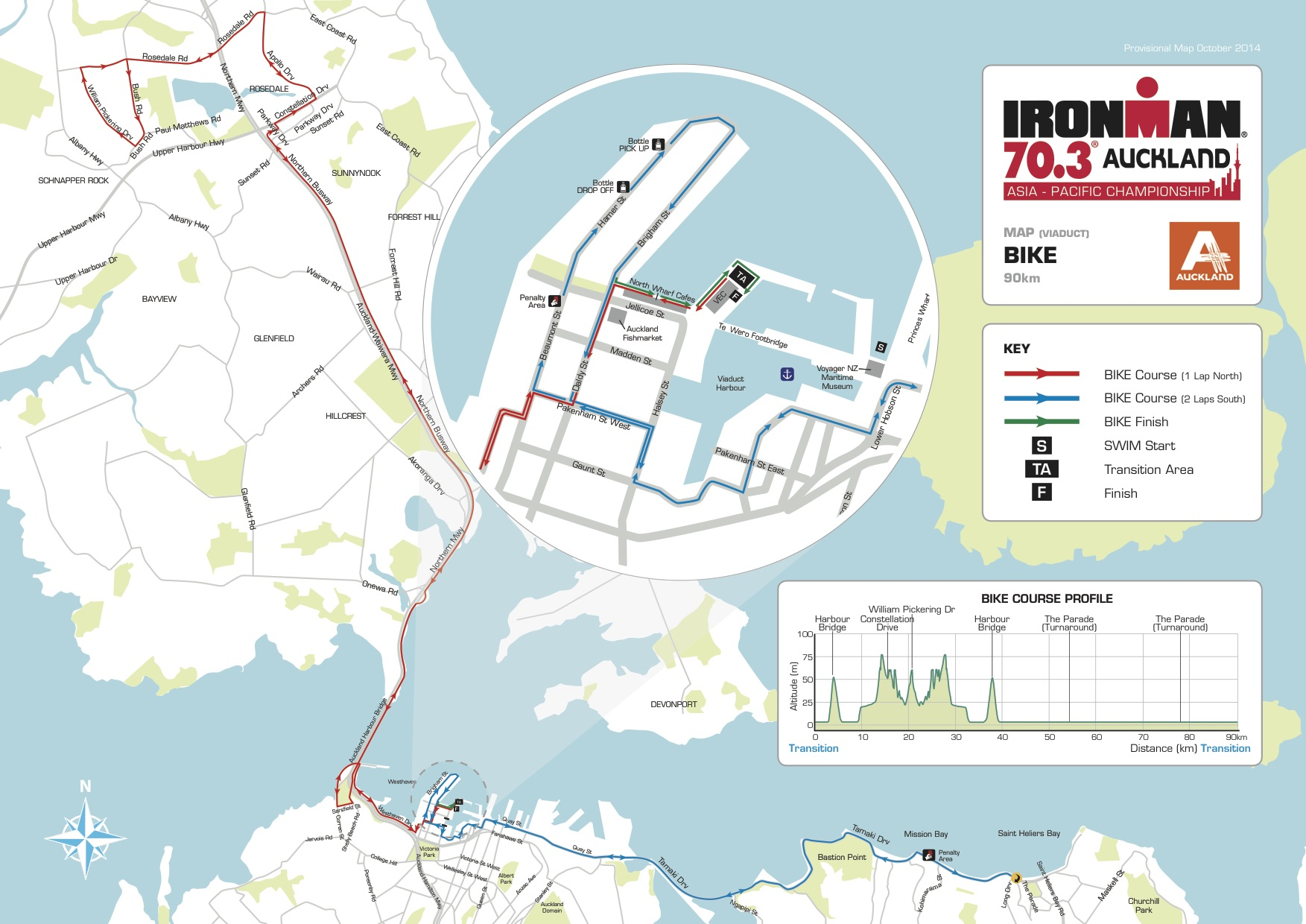 703 auckland bike map
